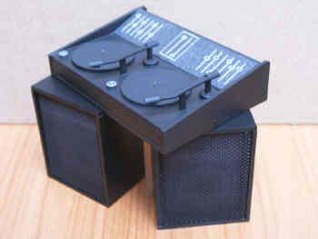 Disco Deck & Speakers - M87