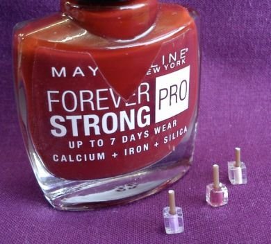 Nail Varnish Single Bottle