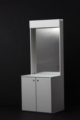 Mirrored Shop Fitting Unit - S104