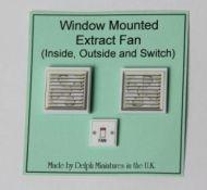 Window-Mounted Extractor Fan - M213