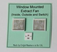 Window-Mounted Extractor Fan - M213