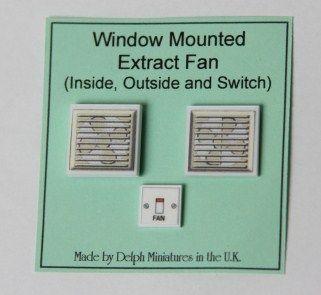 Window-Mounted Extractor Fan