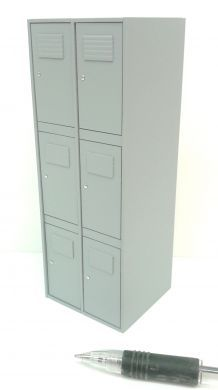 Locker Unit in Grey - M240