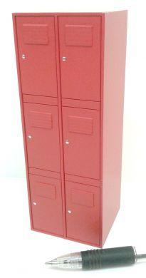 Locker Unit in Red