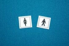 Toilets Signs - Ladies and Gents - M164
