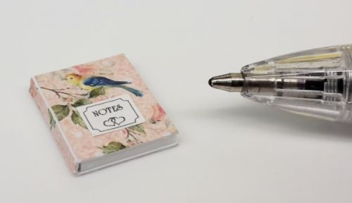 Birds Patterned Notebook - O52Birds
