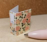 O53 Peach Roses - Binder