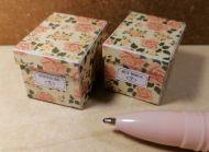 O54 Peach Roses - Storage Box