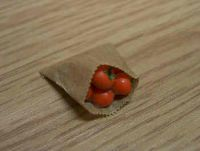 Paper Bag with Tomatoes