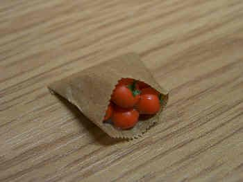 Paper Bag with Tomatoes - PB9