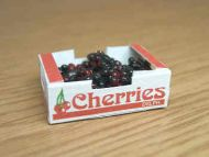Cherries in printed carton