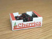 Cherries in printed carton
