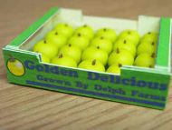 Golden Delicious Apples in printed carton - PC13