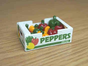 Peppers i n printed carton - PC134