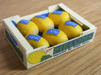 Honeydew Melons in printed carton
