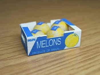 Galia Melons in printed carton