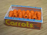 Carrots in Printed Carton