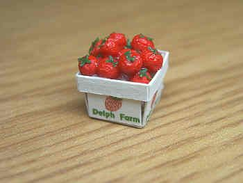 Strawberries in printed punnet - PC214