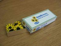 Sunflowers in printed box - PC248