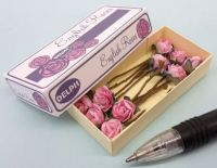 Roses in Printed Carton - English Roses in Pink