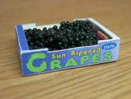 Black Grapes in printed carton