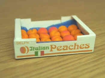 Peaches in printed carton - PC9