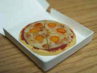 Pizza in takeaway carton - PCP