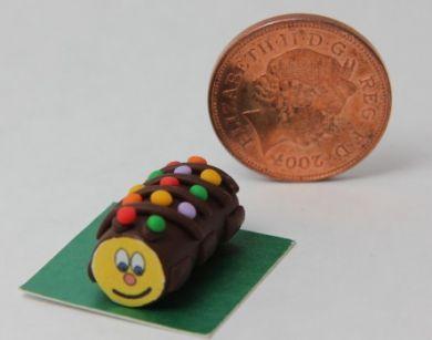 Chocopillar Cake