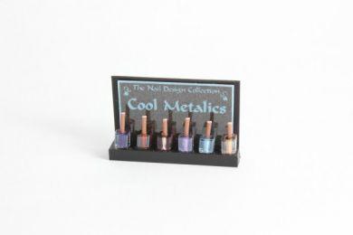 Nail Varnish Display - Cool Metallic