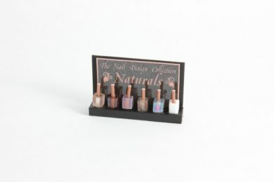 Nail Varnish Display - Naturals