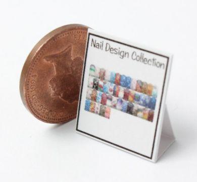 Nail Art Display Chart 1 - HD59-1