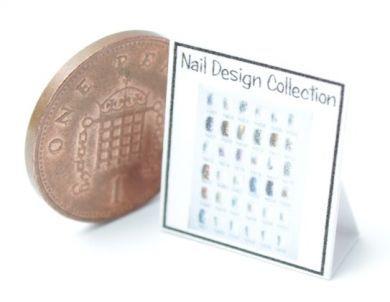 Nail Art Display Chart 2 - HD59-2