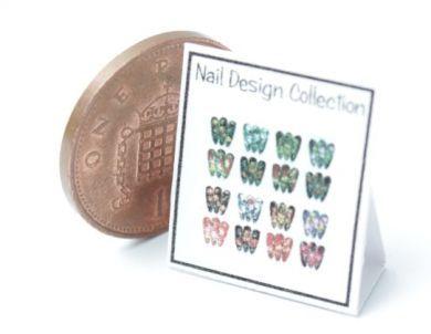Nail Art Display Chart 3 - HD59-3