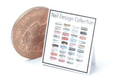 Nail Art Display Chart 8 - HD59-8