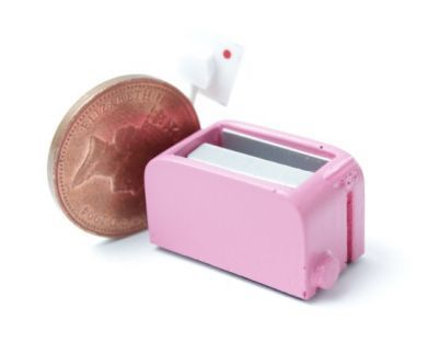 Electric Toaster Bright Pink
