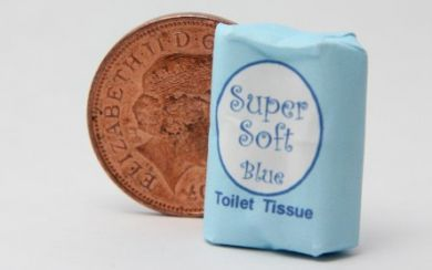 Toilet Rolls Pack  Blue - H52B