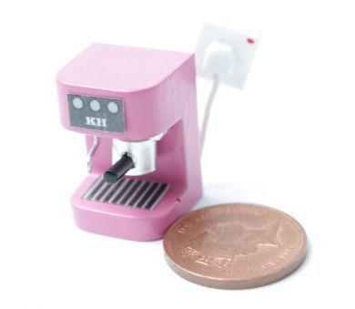 Kitchen Espresso Maker Bright Pink