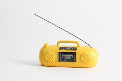 Ghetto Blaster 'Yellow'