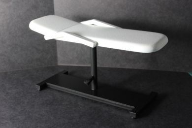 Treatment Couch - White/Black - M74