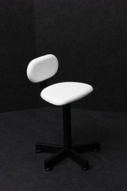 Therapists Chair - White/Black - M75