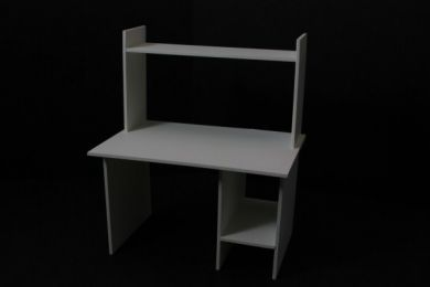 Computer Desk in White - O13A