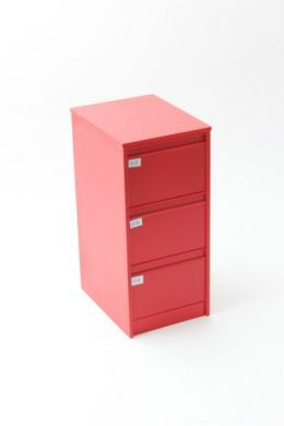 Red Filing Cabinet - O33R