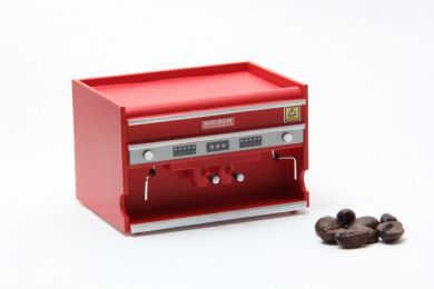 Cafe Espresso Machine in Red