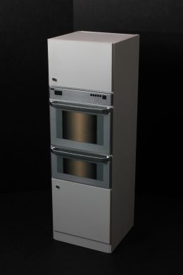 Double Oven Unit with oven decals - KW17