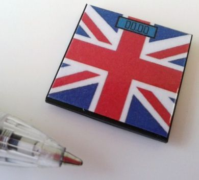 Bathroom Scales Union Jack - M220