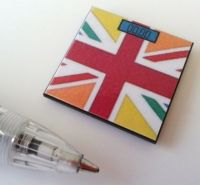 Bathroom Scales Union Jack Multicoloured