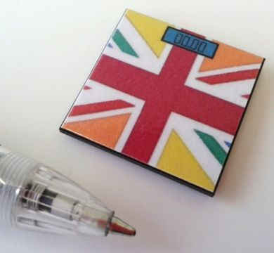 Bathroom Scales Union Jack Multicoloured - M220M