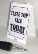Table Top Sale - 'A' Board - S111