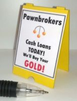 A Board - Pawnbrokers