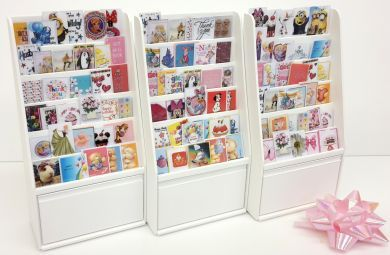 S128 Filled Greetings Card Stand